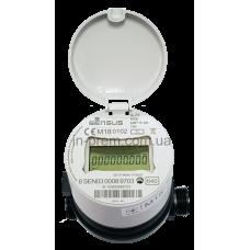 Об'ємний лічильник холодної води (сухохід) 640С з вбудованим радіомодулем, електронним лічильним механізмом та корпусом з композитного матеріалу