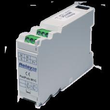 PadPuls M1C - Одноканальний імпульсний перетворювач у виконанні для монтажу на DIN-планку