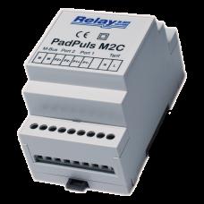PadPuls M2C - Двухканальный импульсный преобразователь для монтажа на DIN - планку